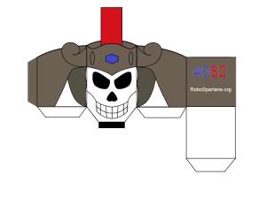 Leonidas Skull by Ryan Payne